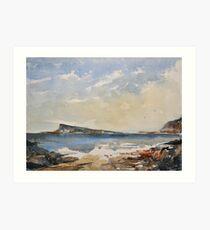 Easdale island Art Print