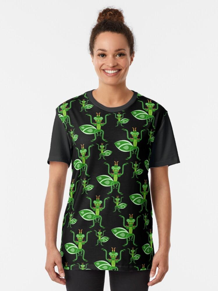 Alternate view of Mantis Graphic T-Shirt