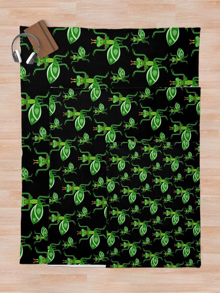 Alternate view of Mantis Throw Blanket