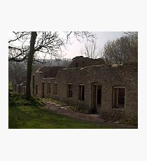 Tyneham ~ Village of the Vanished Photographic Print