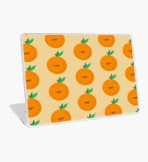 Happy Clementine Laptop Skin