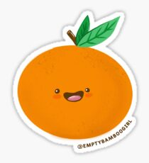 Happy Clementine Sticker
