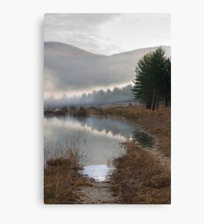 Palsko Lake, Pivka lakes, Slovenia Canvas Print