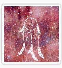 Cosmic Dreams (pink galaxy) Sticker