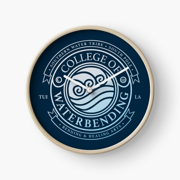 ATLA College of Waterbending: Avatar Inspired-Design Clock