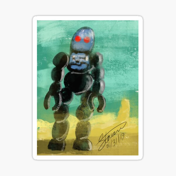 Forbidden Robot Sticker