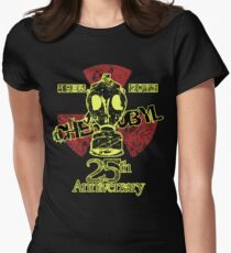 B.- CHERNOBYL 25th ANNIVERSARY REMEMBRANCE  Womens Fitted T-Shirt