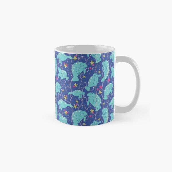 Oh the Hue-Manatee: bright  Classic Mug