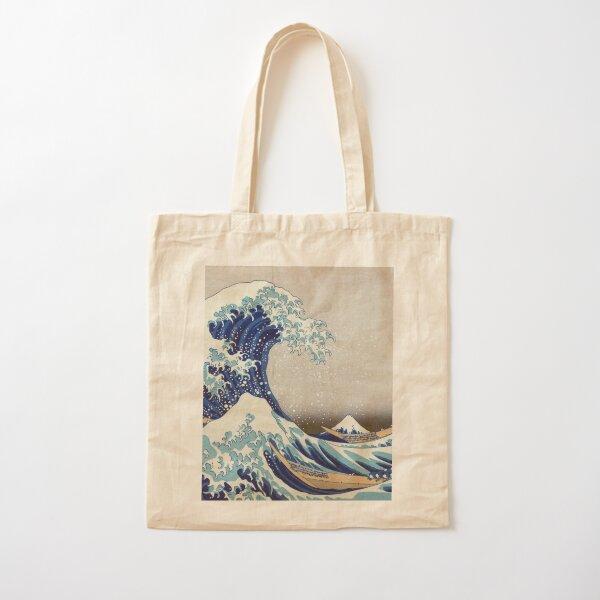 T-shirts, imprimés, etc. au meilleur prix - Hokusai - La grande vague au large de Kanagawa - 1823 Tote bag classique