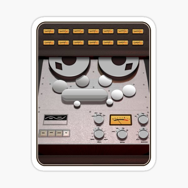 Analog Tape Machine - Recording Classic Sticker