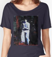 Portrait of David Byrne, Talking Heads - Stop Making Sense! Women's Relaxed Fit T-Shirt