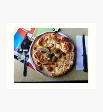 Pizza Il Greco Art Print