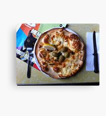 Pizza Il Greco Canvas Print