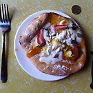 Dessert Pizza Foresta Bianca by Team Bimbo