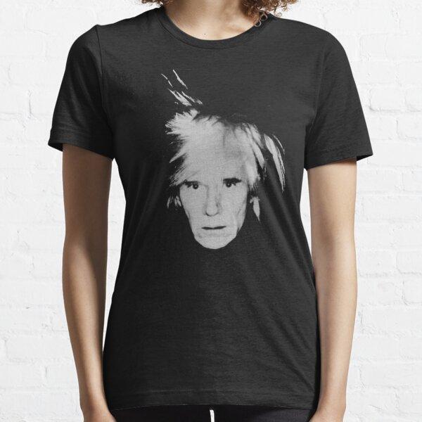 Andy Warhol Self Portrait Essential T-Shirt