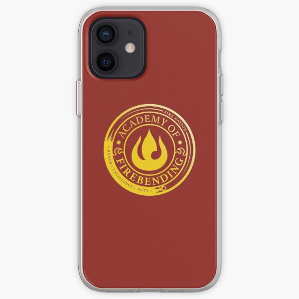 ATLA Academy of Firebending: Avatar Inspired-Design iPhone Soft Case