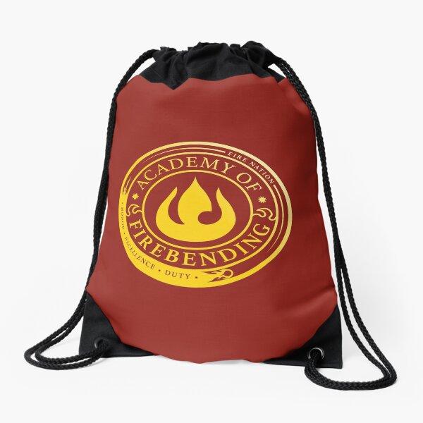 ATLA Academy of Firebending: Avatar Inspired-Design Drawstring Bag