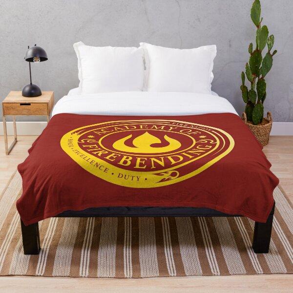 ATLA Academy of Firebending: Avatar Inspired-Design Throw Blanket