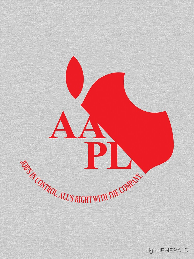 Apple in the style of Evangelion's Nerv by digitalEMERALD