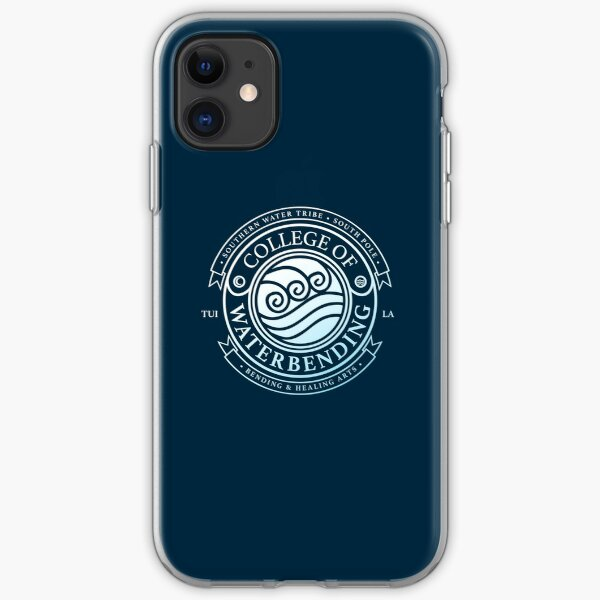 Avatar College of Waterbending, Avatar-Inspired Design iPhone Soft Case