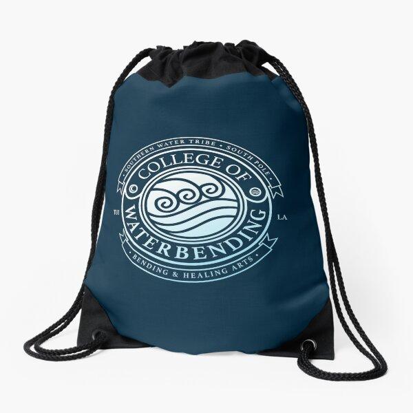 ATLA College of Waterbending: Avatar Inspired-Design Drawstring Bag