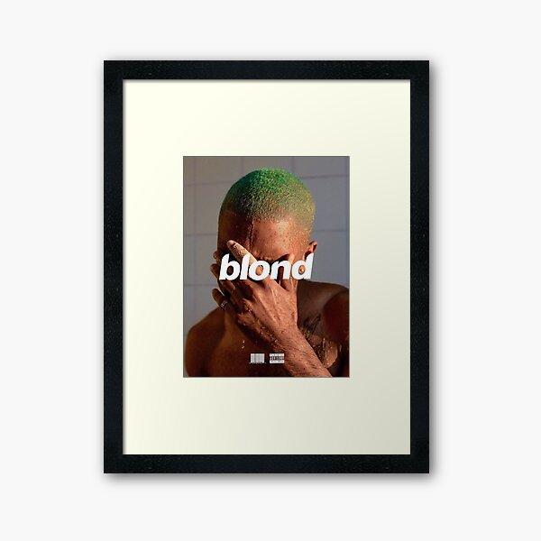 FRANK OCEAN blond Impression encadrée