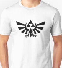 Zelda - Triforce (Black) Unisex T-Shirt