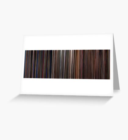 Moviebarcode: Three Colours Trilogy (1993-1994) Greeting Card