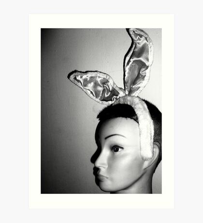 Mandy's Easter Bunny Mug-Shot Art Print
