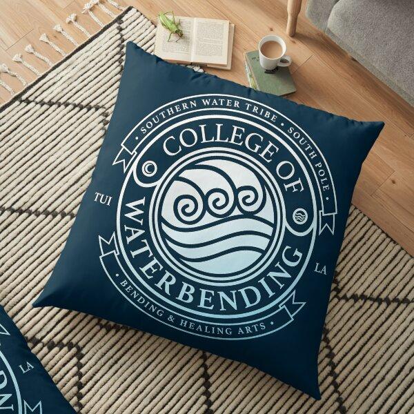 ATLA College of Waterbending: Avatar Inspired-Design Floor Pillow
