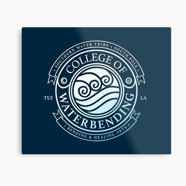 ATLA College of Waterbending: Avatar Inspired-Design Metal Print