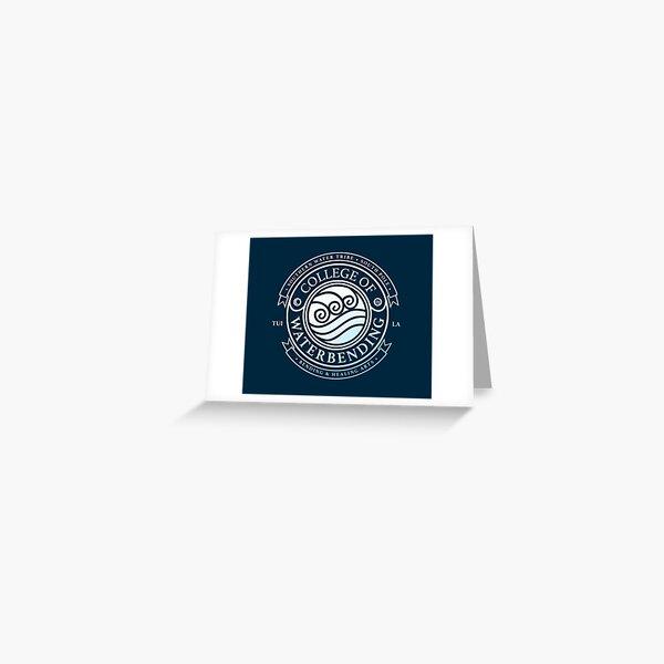 ATLA College of Waterbending: Avatar Inspired-Design Greeting Card