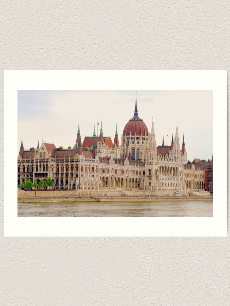 BUDAPEST HUNGARY PARLIAMENT CANVAS PRINT PICTURE WALL ART FREE FAST DELIVERY