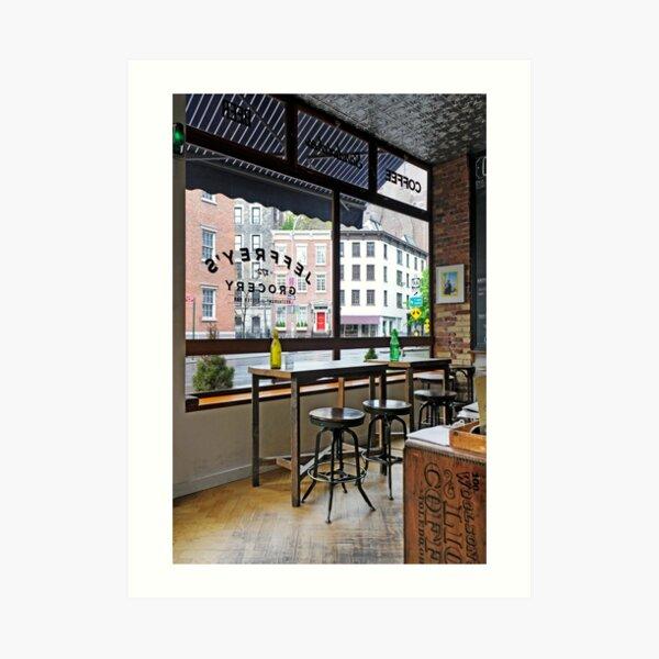 Restaurant Jeffrey's Grocery Impression artistique