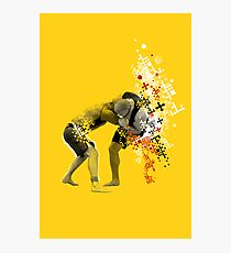 NO GI GRAPPLING POSTER Photographic Print