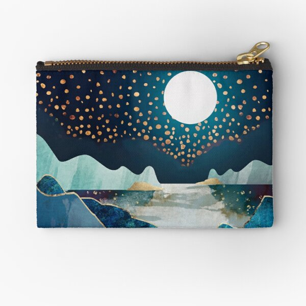 Moon Glow Zipper Pouch