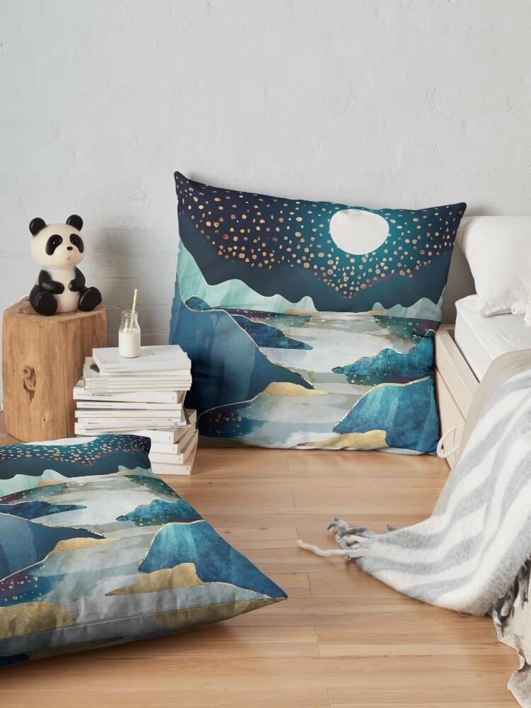 Alternate view of Moon Glow Floor Pillow