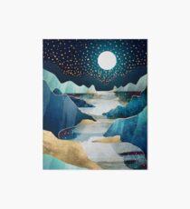 Moon Glow Art Board Print