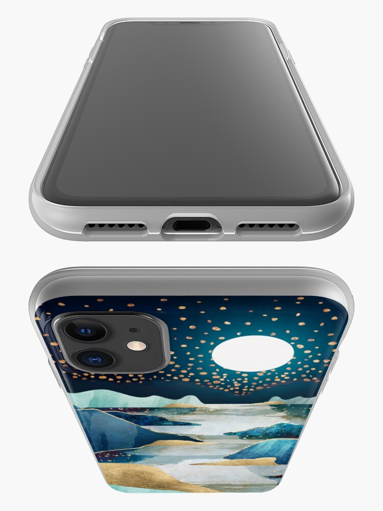 Alternate view of Moon Glow iPhone Case & Cover