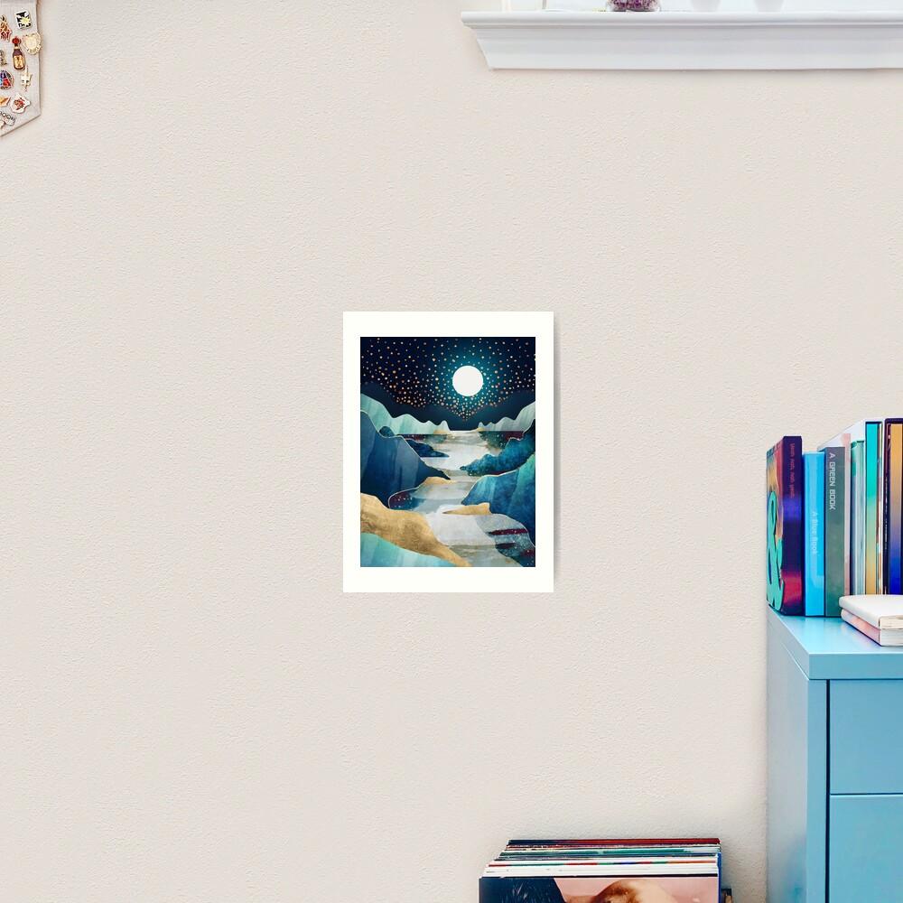 Moon Glow Art Print