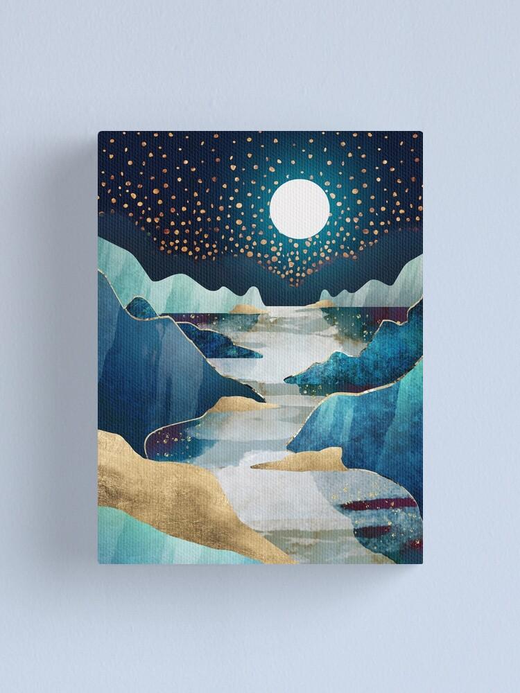 Alternate view of Moon Glow Canvas Print