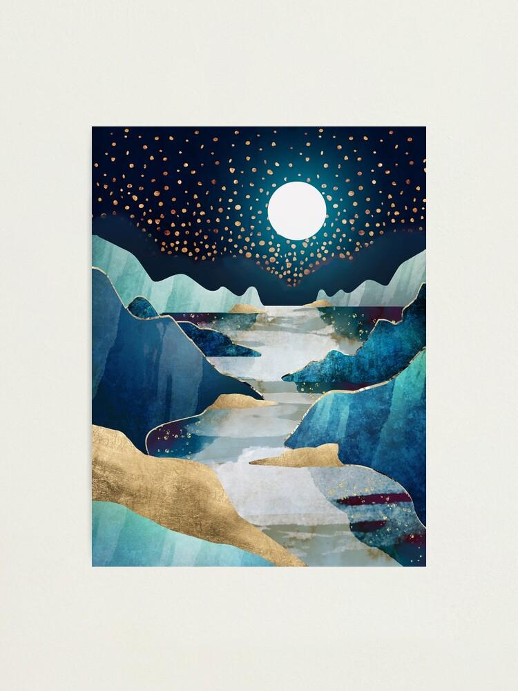 Alternate view of Moon Glow Photographic Print