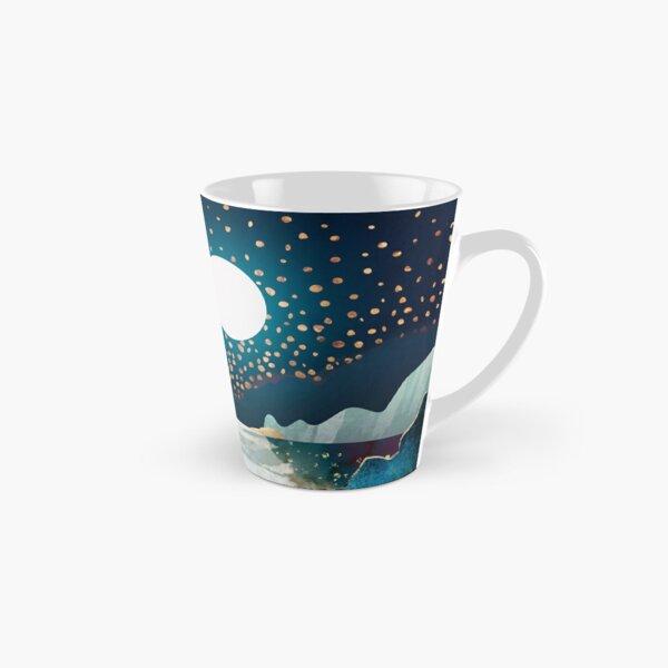 Blau und Sterne Tasse (konisch)
