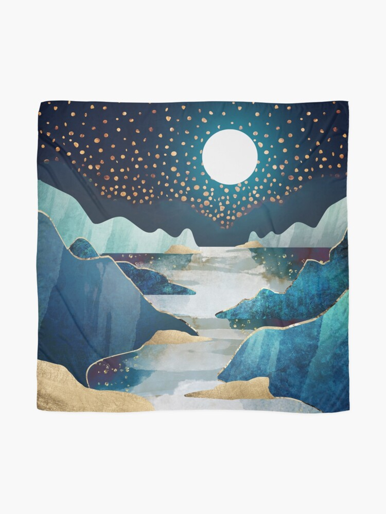 Alternate view of Moon Glow Scarf