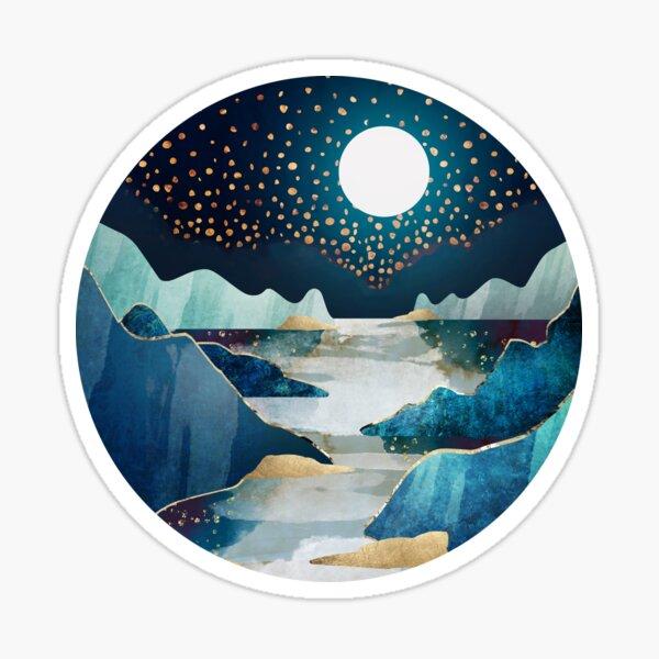 Moon Glow Sticker