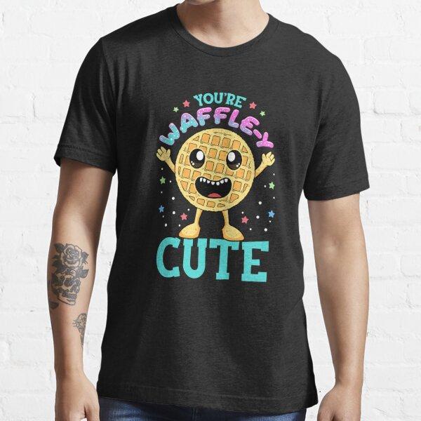 Cute & Funny You're Waffle-y Cute Waffle Pun Essential T-Shirt