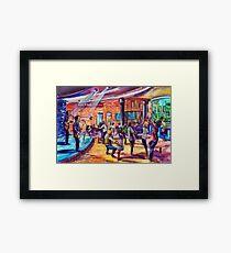 zeds magic Framed Print