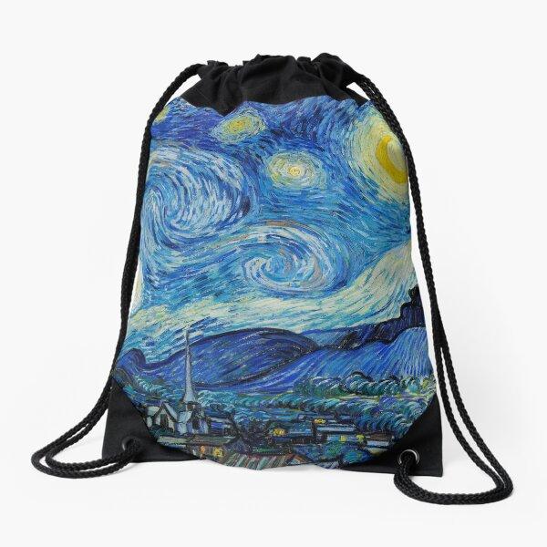 The Starry night - Vincent van Gogh  Drawstring Bag