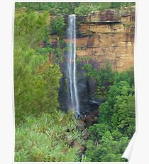 Fitzroy Falls from Jersey Lookout Poster