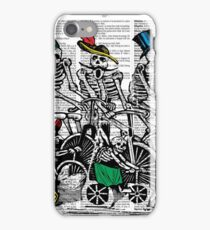 Calavera Cyclists iPhone Case/Skin